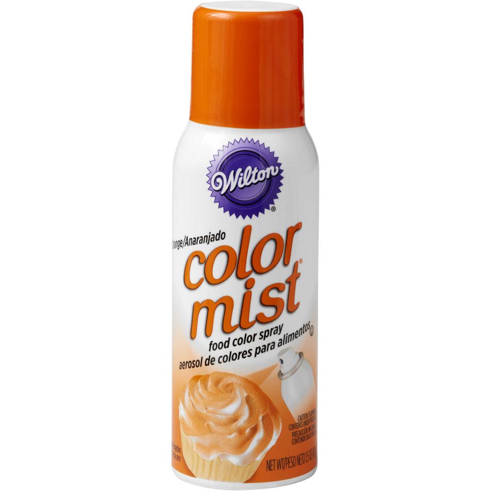 710-5507, Wilton 1.5 Oz  Orange Color Mist Food Color Spray