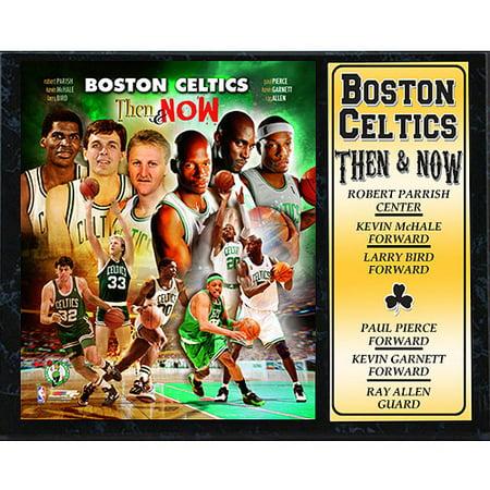 NBA Boston Celtics Stat Plaque,