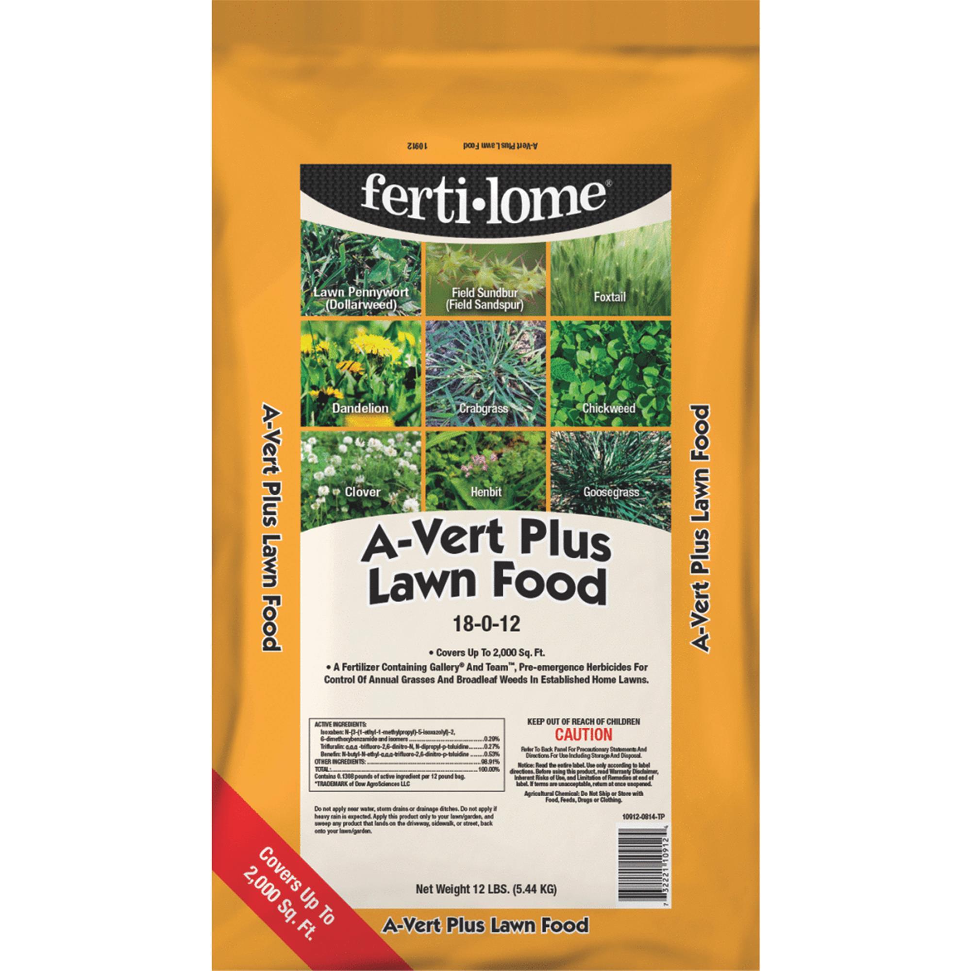 Ferti-lome A-Vert Plus Lawn Fertilizer With Weed Killer