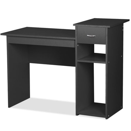 Ktaxon Home Office Computer Desk Pc Laptop Table Furniture Student Study Workstation Black