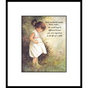 LPG Greetings Life Lines One Hundred Years by Peggy Abrams Framed Graphic Art