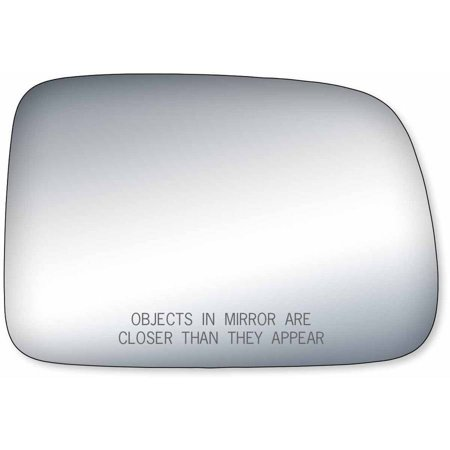 90156 - Fit System Passenger Side Mirror Glass, Honda CR-V 02-06 (Honda Prelude Mirror Glass)