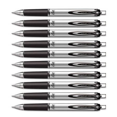 Uni-ball Impact RT Retractable Bold Point Gel Pens, 10 Black Ink Pen (65870) ()