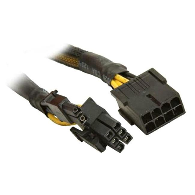 Works 22-100-31 PCI Express 8-Pin Extension Cable, 14 in. Long