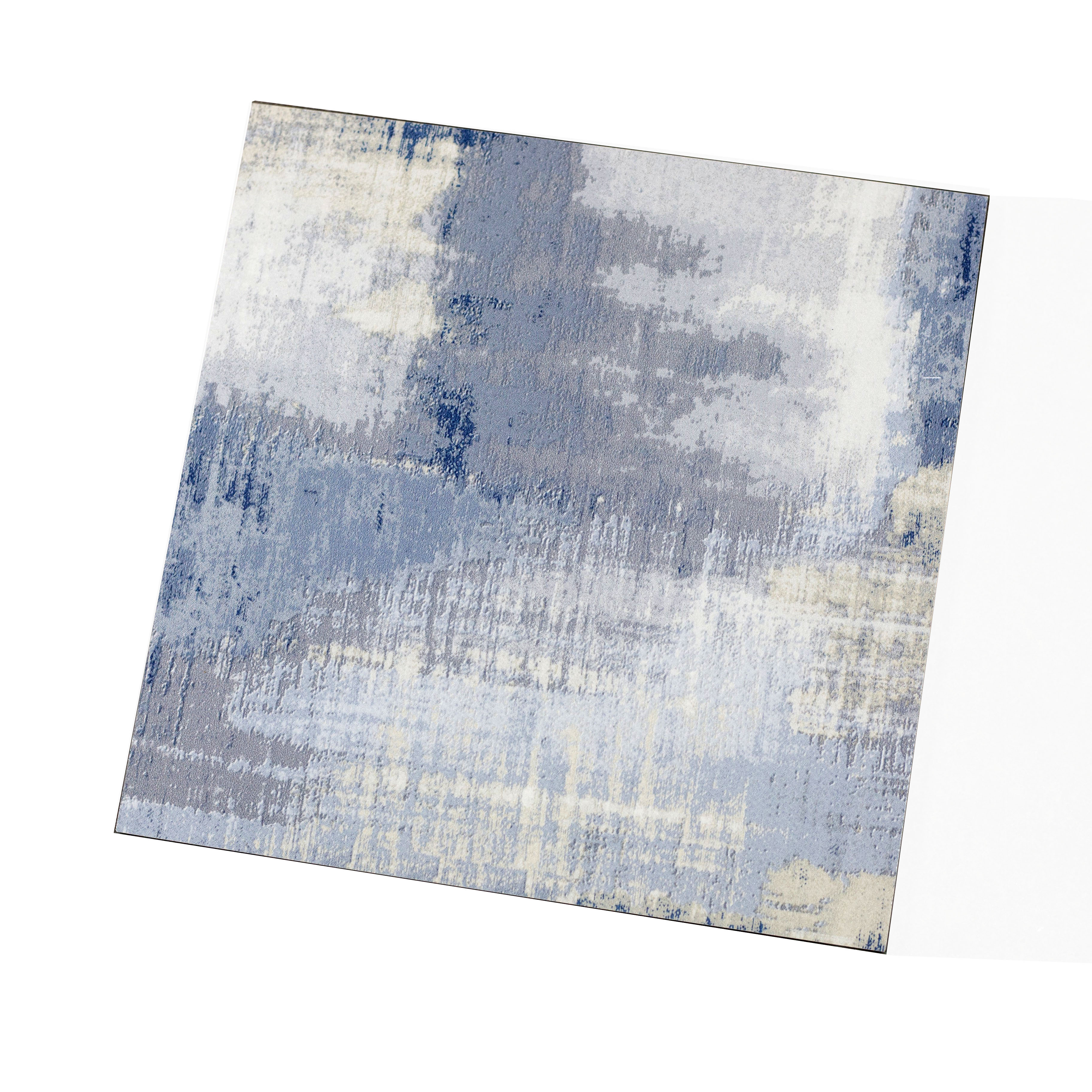 "Abolos- Nature 8"" x 8"" Glass Subway Tile in Cement Blue/Gray (13.33sqft / 30pc Box)"