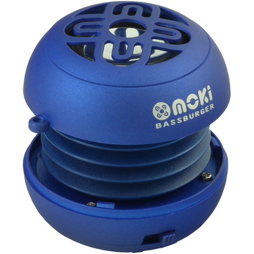 Moki BassBurger Pocket Speaker, Assorted Colors