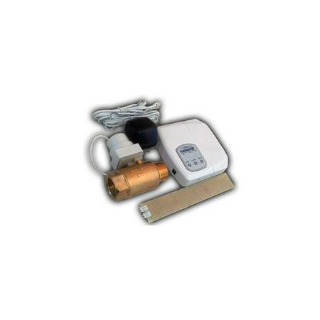 FloodStop Water Heater Auto-Shutoff Valve, FS3/4NPT, V4 Controller, Water Damage Prevention ()