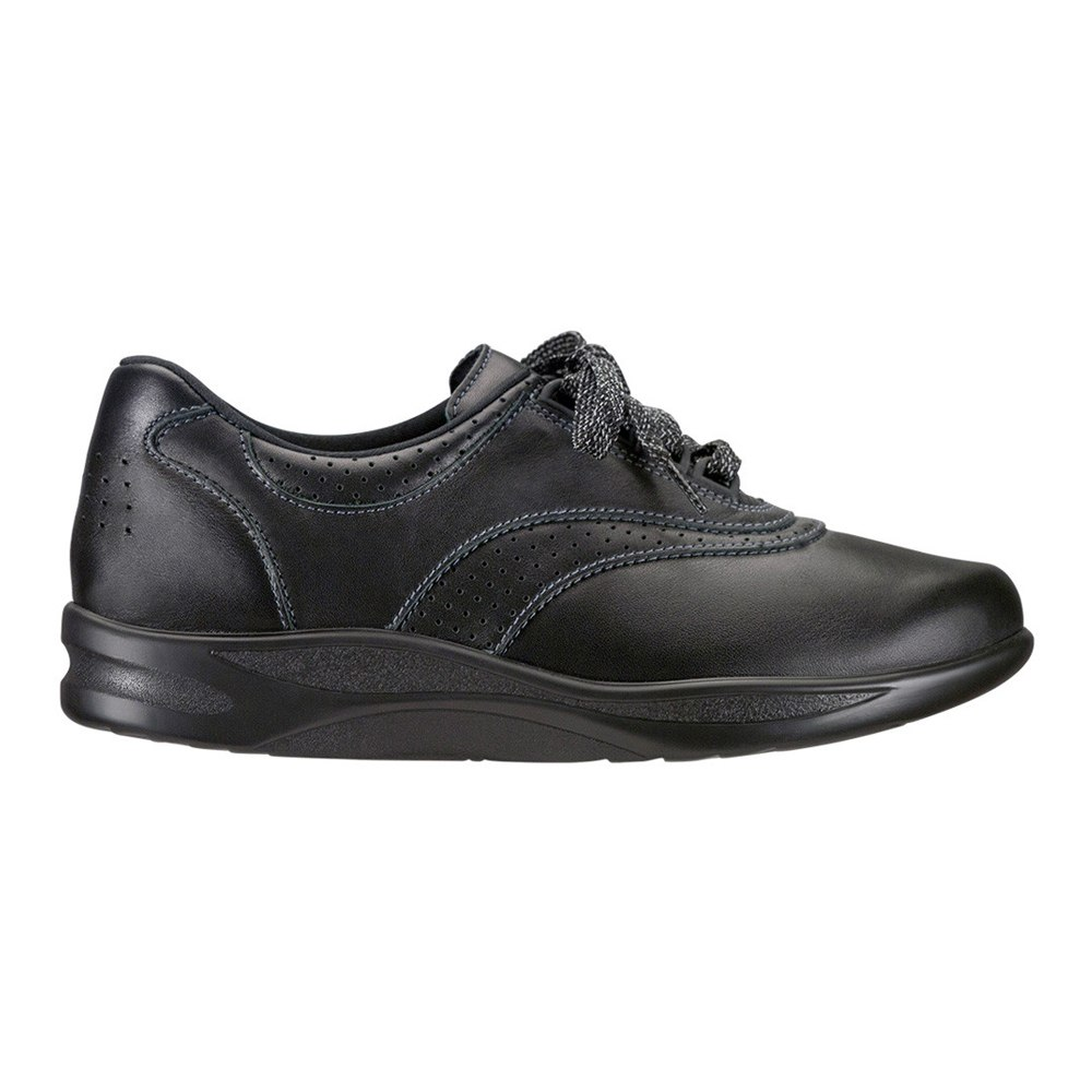 SAS Womens Walk Easy Low Top Lace Up Walking Shoes