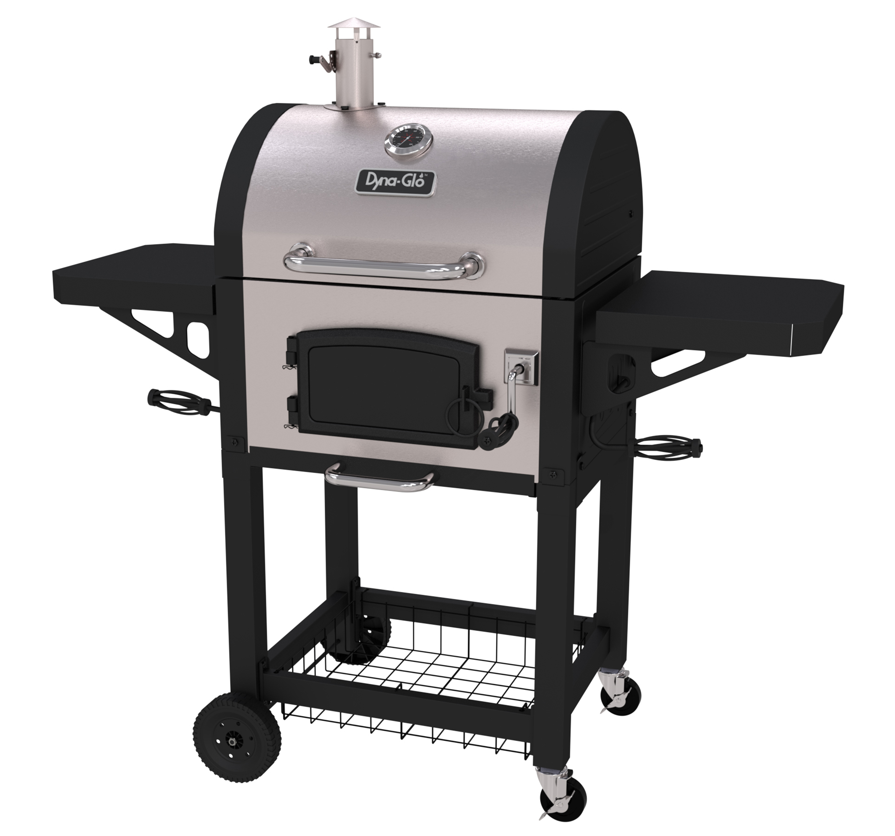 Dyna-Glo DGN405SNC-D Heavy-Duty Compact Charcoal Grill