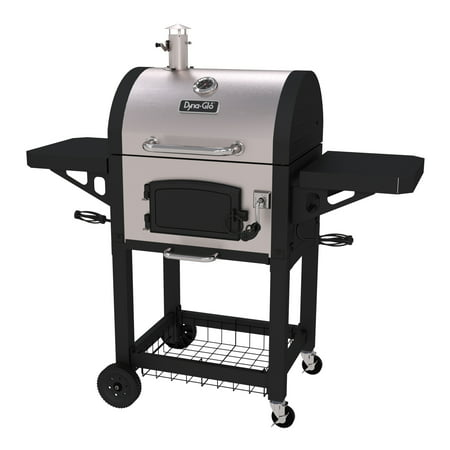 38 Inch Grill - Dyna-Glo Heavy-Duty Compact Charcoal Grill