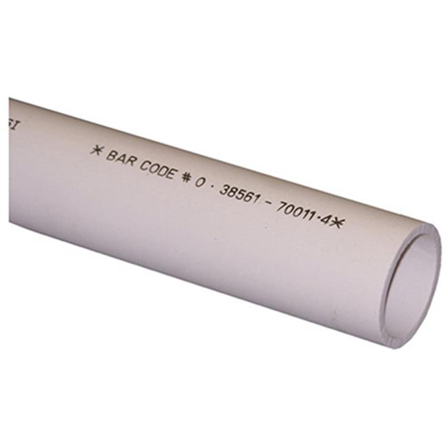Genova Products 70015 1.5 in. x 5 ft. Schedule 40 DWV Pipe - image 1 of 1