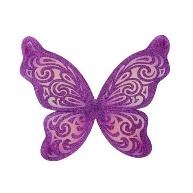 Just Pretend Kids JPWNG-BUT-PUR-OS Butterfly Wing - Purple & Fuchsia