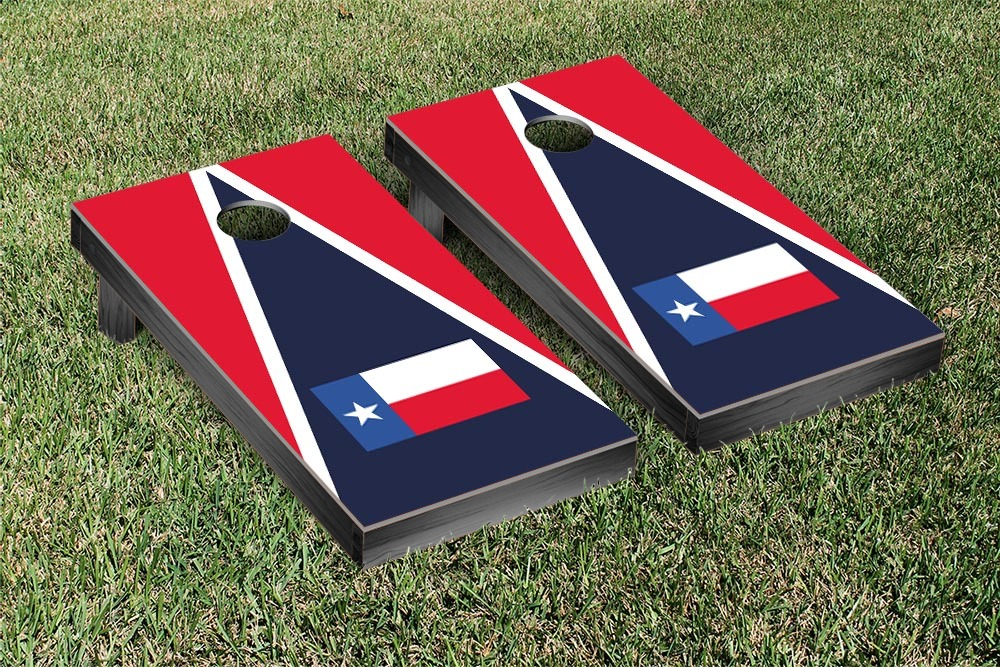 Victory Tailgate State Flag Texas Triangle Flag Cornhole Beanbag Toss Game by Victory Tailgate