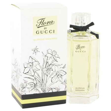 Gucci Flora Glorious Mandarin Eau De Toilette Spray for Women 3.4 oz