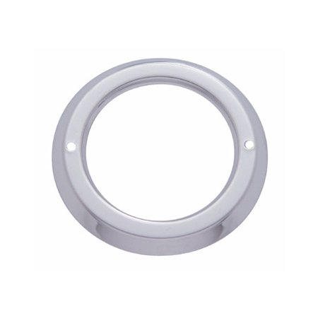 Round Stainless Steel Bezel / Covers 2