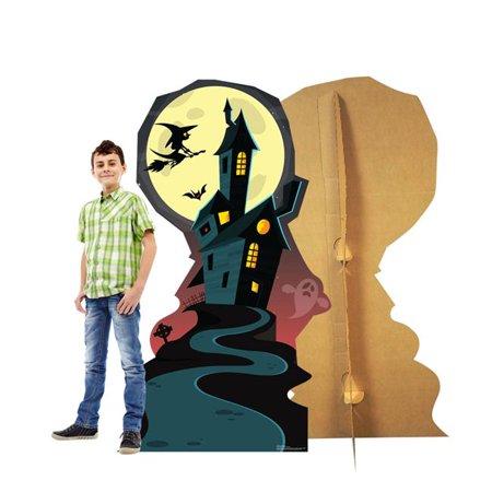 Advanced Graphics 2386 66 X 38 In Halloween Haunted House Cardboard Standup Walmart Canada