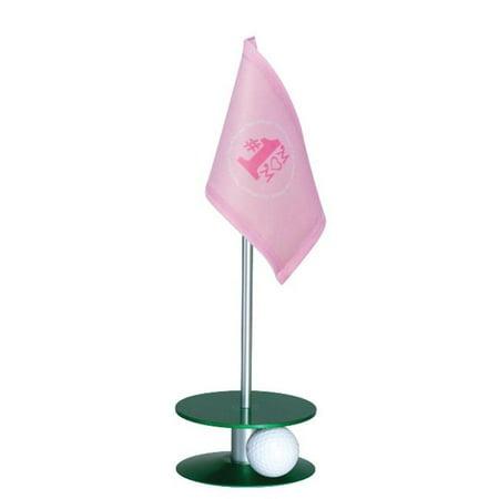 Anne Stone Golf Putt-A-Round Putting Aid No. 1 Mom Flag Green Base