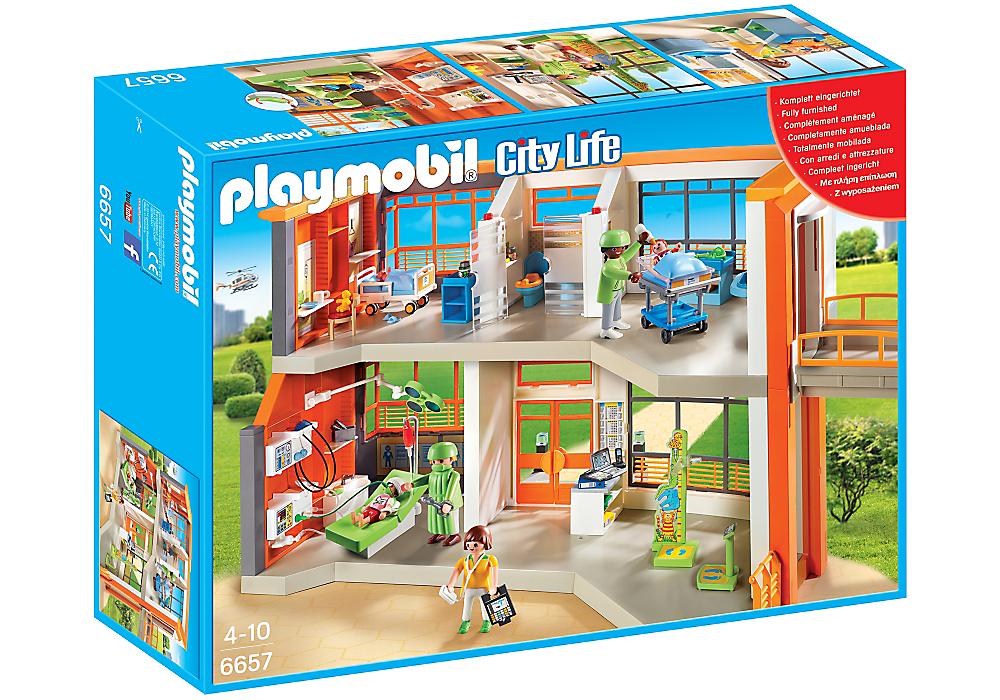Playmobil SD-3 Pregnant Woman Figure City Life Hospital School Dollhouse