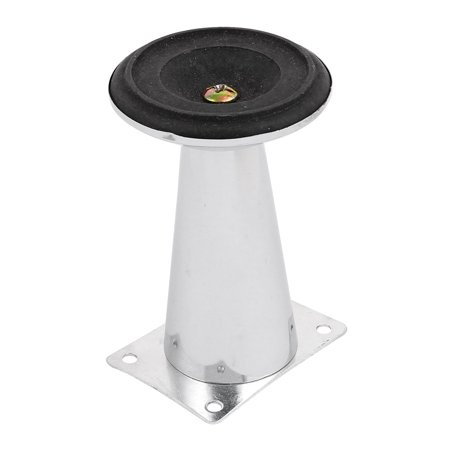 73mm Dia Base 113mm Height Furniture Cabinet Cupboard Leg Feet 4pcs - image 1 de 3