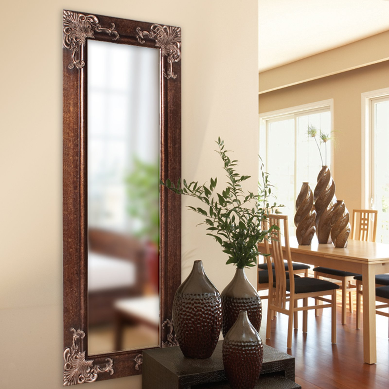 full length wall mirror Belham Living Ashburn Full Length Wall Mirror   24W x 63H in  full length wall mirror