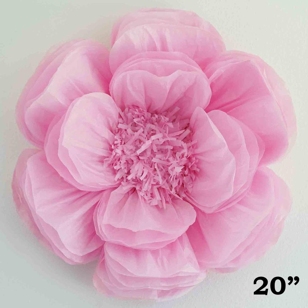 Efavormart 1 Piece 20 Diy Giant Bloomed Peony Paper Flower Wall Backdrop Decor For Centerpiece Arrangement Party Decoration Supply
