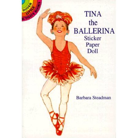 Tina the Ballerina Sticker Paper (Ballerina Paper)