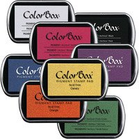 Colorbox Pigment Stamp Pads, 3.5