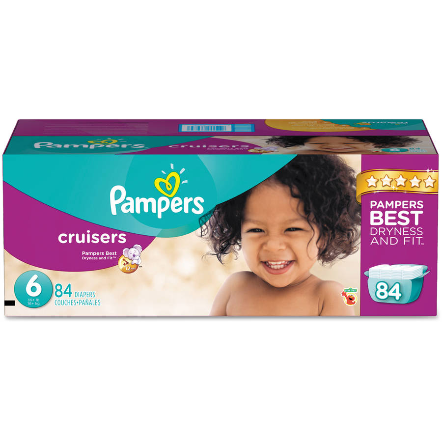 Pampers Cruisers Diapers, Size 6, 84 Diapers by Pampers