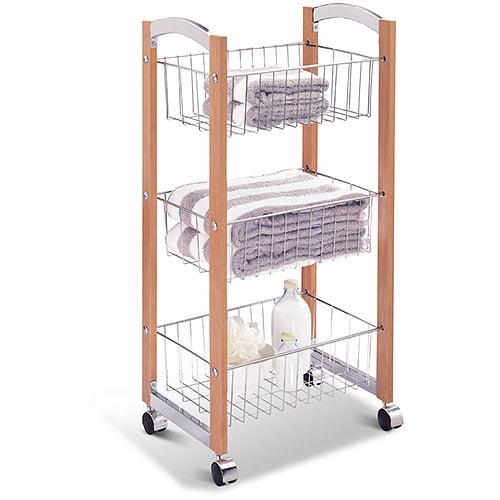 OIA Concord 3 Tier Storage Cart