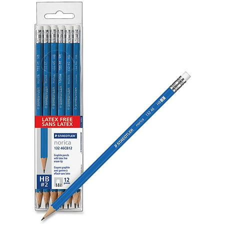 Staedtler Norica Vinyl Eraser 2 Wooden Pencils Walmart Com