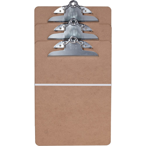 Officemate Clipboard with Large Clip, Set of 3
