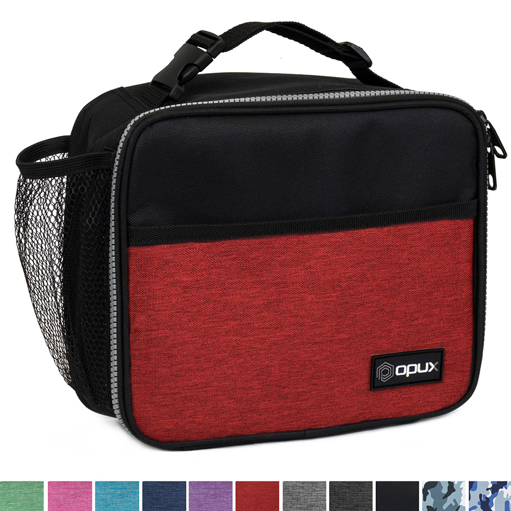 OPUX Premium Thermal Insulated Mini Lunch Bag | Spacious Durable Lunch Box For Men Women Adults | Soft Leakproof Liner | Compact Reusable Lunch Pail for Office