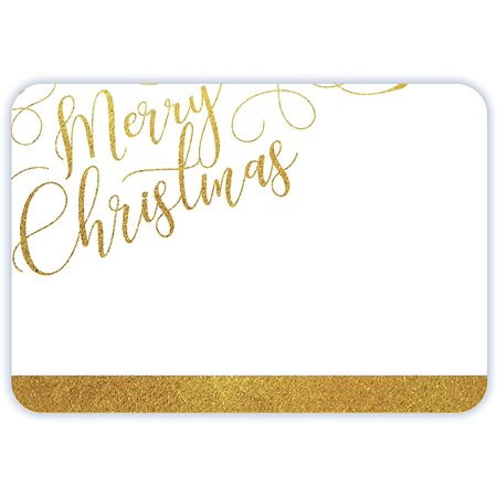 Avery Merry Christmas Name Tags, Gold Script, Gift Tags, Party Favors, No Lift, Handwrite Only, 36 Name Tags Avery Merry Christmas Name Tags, Gold Script, Gift Tags, Party Favors, No Lift, Handwrite Only, 36 Name Tags