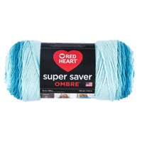 Red Heart Super Saver Ombre Scuba Yarn, 482 Yd.