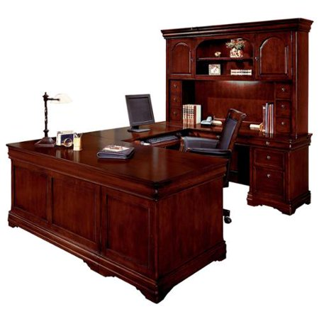 Dmi Rue De Lyon Executive Overhead Hutch U Desk Office 2090 Product Photo
