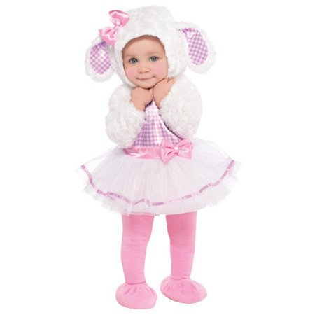 Little Lamb Costume Infant 12-24 Months Costumes USA - Newborn Costumes 0 3 Months