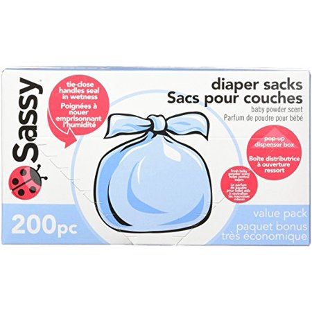 Sassy Diaper Sacks, 200 Count