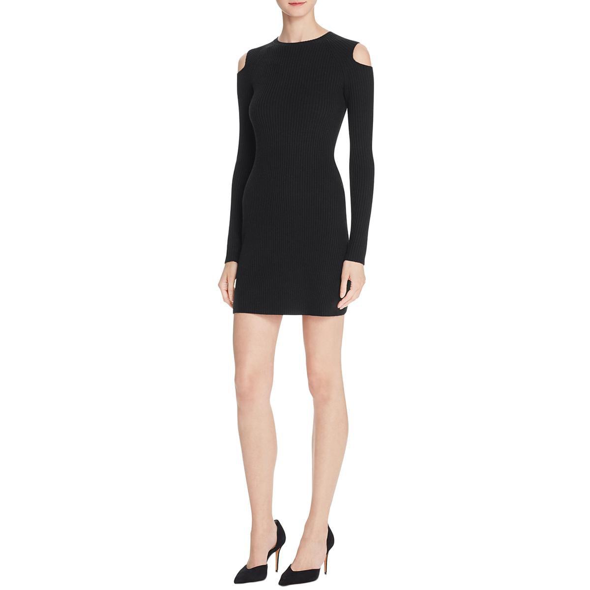 Theory Womens Jemlora Wool Ribbed Knit Sweaterdress by theory