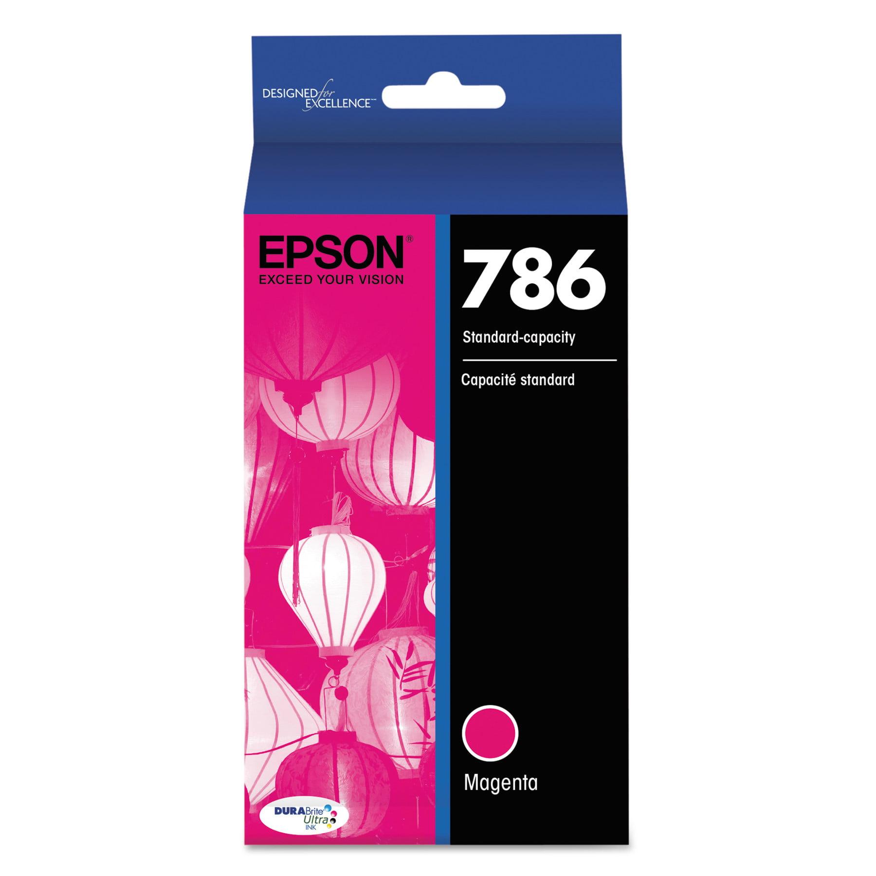 Epson T786320 (786) DURABrite Ultra Ink, Magenta by Epson