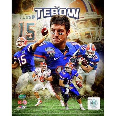 - Tim Tebow University of Florida Gators Portrait Plus Sports Photo