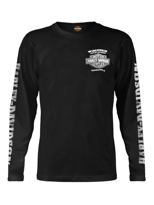 Harley Davidson long sleeve t-shirt Texas Large New