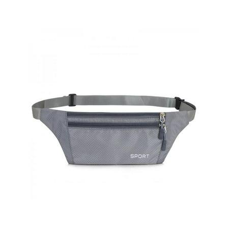 3f4f0485e6dd Waterproof Running Belt Bum Waist Pouch Sport Camping Hiking Zip Fanny Pack  Bag
