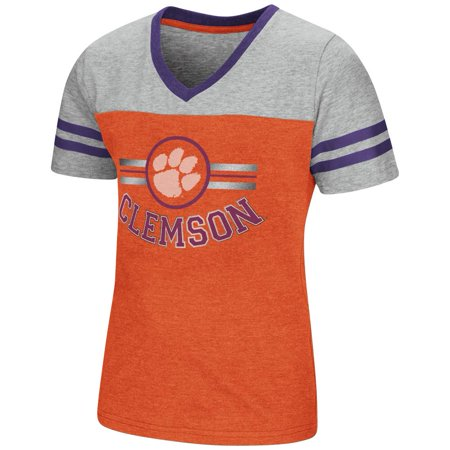 Clemson University Tigers Youth Girls Short Sleeve Pee Wee Tee