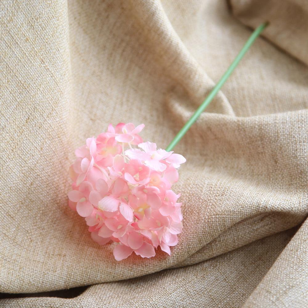 Mosunx Artificial Silk Fake Flowers Peony Floral Wedding Bouquet Bridal Hydrangea