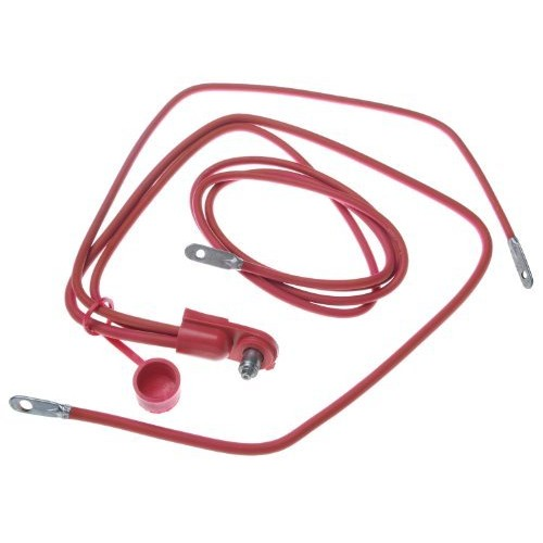 ACDelco 4SD42X Professional 4 Gauge Positive Side Terminal Battery Cable with Auxiliary Leads