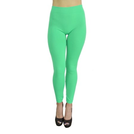 19658838eb777a Belle Donne - Belle Donne - Women's Fleece Lined Leggings (One Size) - Mint  - Walmart.com