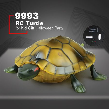 Infrared Remote Control Realistic Fake Turtle RC Prank Insect Bugs for Joke Scary Trick Toy Kid Gift Halloween Party (Scary Halloween Pranks Ideas)