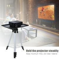 Tripod Mount,Tripod Stand,Ymiko Aluminum Alloy Steel Projector Tripod Bracket 6KG 4-level Height Adjustable