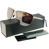 288abfc693d4 Product Image Porsche P8577-C Aviator Women s Rose Gold Frame Brown Lens  Genuine Sunglasses