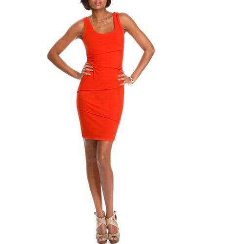 Miss Tina Women's Layered Panel Dress